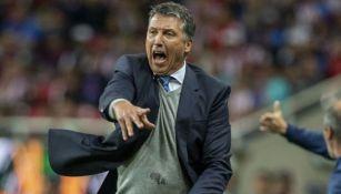 Robert Dante Siboldi, entrenador de Cruz Azul