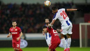 Duelo cerrado entre el Porto yBayer Leverkusen