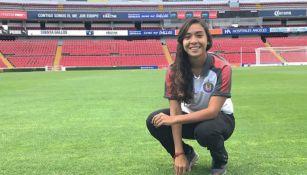 Zellyka Arce, en su etapa con Chivas