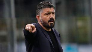 Gennaro Gattuso habló sobre el Barcelona de Setién