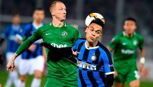 Inter de Milán vs Ludogorets se jugaría a puerta cerrada