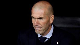 Zidane, en el banquillo merengue