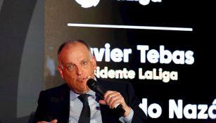 Javier Tebas en el Sport Summit 2020 en México