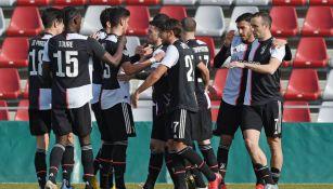 Juventus vs Real Madrid de la Youth League fue aplazado