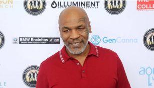 Mike Tyson en un congreso de innovación en Estados Unidos