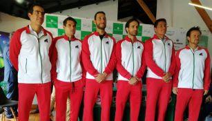 El equipo mexicano de Copa Davis