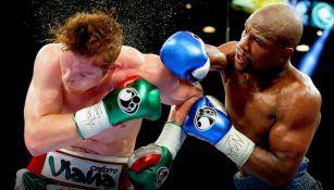 'The Money' impactó al Canelo durante un combate