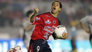 Gustavo Biscayzacú como jugador de Veracruz