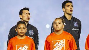 Lozano y Jiménez con Selección Nacional