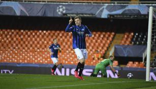 Atalanta avanzó a Cuartos de Final de la Champions League