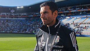 Lozano, previo a un juego del Tri Sub 23