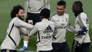Real Madrid en entrenamiento
