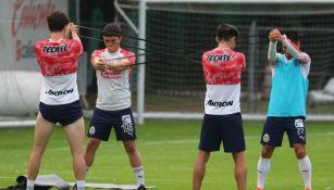Chivas sí tuvo entrenamiento a pesar del virus