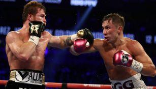 Canelo vs Golovkin en pelea