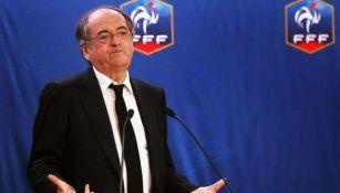 Noel Le Graet, presidente de la Federación Francesa de Futbol