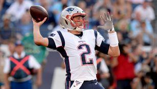 New England Patriots firmó al quarterback Brian Hoyer