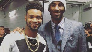 Darius Slay con Kobe Bryant