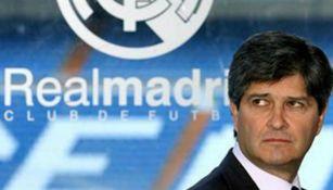 Fernando en su presentación como presidente del Real Madrid