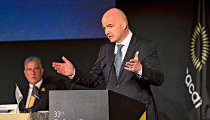 Infantino, a favor de disminución de torneos de futbol a nivel mundial