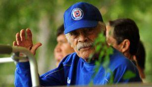 Don Nacho Trelles en las instalaciones de La Noria