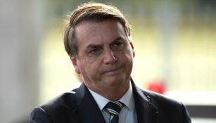 Jair Bolsonaro, durante un evento político