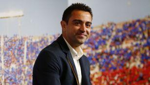 Xavi reveló las condiciones que puso para volver a Barcelona