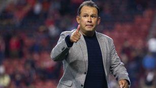 Juan Reynoso, feliz tras una victoria del Puebla