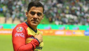 Aldo Rocha en partido con Monarcas