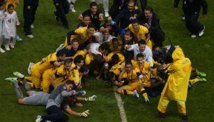 Jugadores del América con el título de 2013