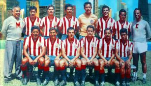 Chivas ganó ocho títulos de Liga entre los 50s y los 60s