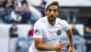 Pizarro, en un partido del Inter