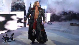 Edge, durante un evento de la WWE