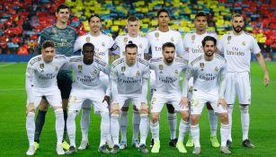 Once del Real Madrid para el Clásico Español