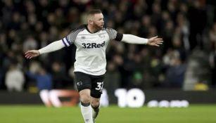 Wayne Rooney, delantero del Derby County