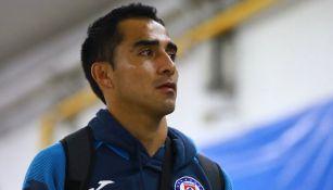 Rafael Baca en el Estadio Azteca
