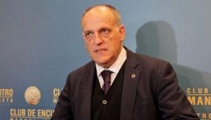 Presidente de La Liga reveló que cancelar temporada traería pérdida de mil millones de euros