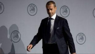 Presidente de la UEFA reveló la fecha para terminar la Champions
