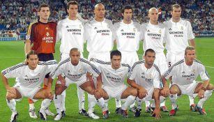 Ronaldo reunió a los 'Galácticos' del Real Madrid