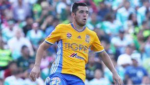 Israel Jiménez, en su etapa como jugador de Tigres