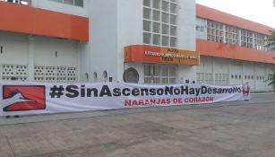 Afición del Correcaminos protesto ante abolir el Ascenso