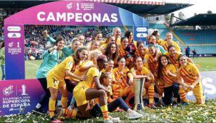 Barça femenil campeón por suspensión de campeonato