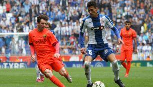 Héctor Moreno en su paso por el Espanyol