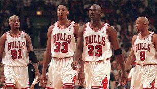 Los míticos Bulls de Michael Jordan