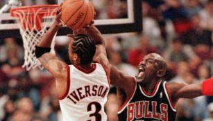 Michael Jordan 'insultó' a Allen Iverson cuando se conocieron