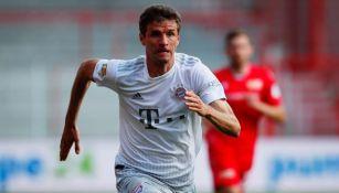 Thomas Müller: 'Somos concientes que somos observados con más rigor que el resto de Alemania'