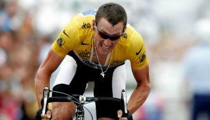 Armstrong en carrera del Tour de France