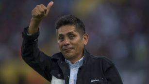 Jorge Campos previo a un homenaje