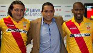 Heriberto Ramón Morales con Héctor Reynoso y Felip Baloy