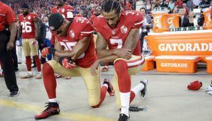 Colin Kaepernick como quarterback de los 49ers