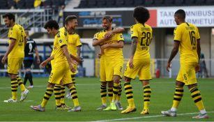 Borussia Dortmund goleó al Paderborn